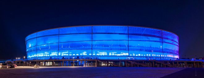 Iluminacja stadionu