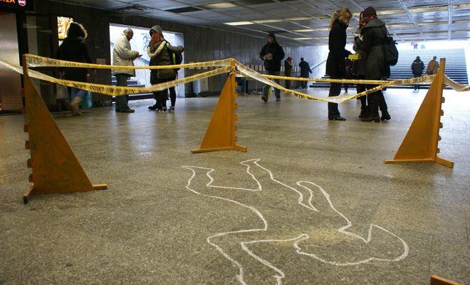 Amnesty International starało się zwrócić uwagę wrocławian, na problem przemocy wobec kobiet