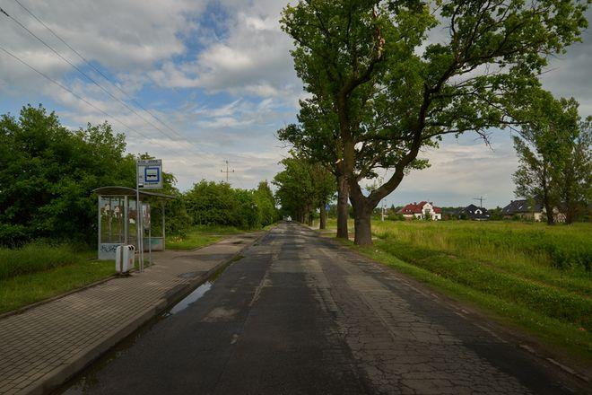 Ulica Konduktorska, widok w stronę Brochowa