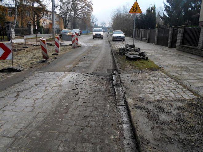 Remont ulicy Osobowickiej jest jedynie doraźny