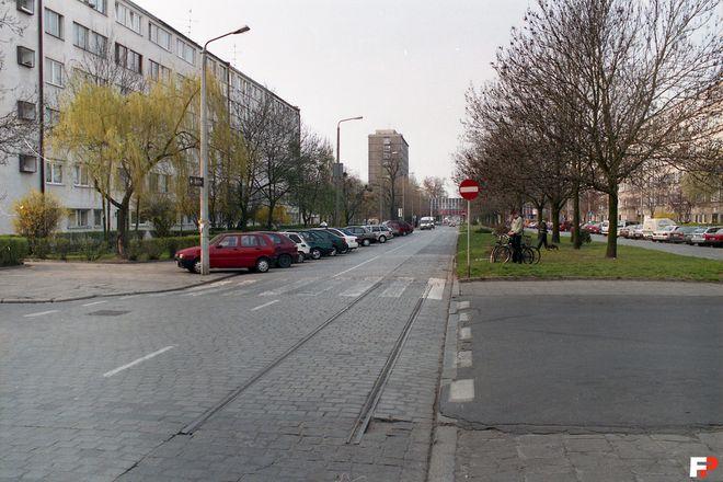 Ulica Zaporoska przy skrzyżowaniu z Energetyczną