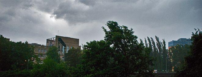 Wieczorem nad Wrocław znów nadejdą ciemne chmury