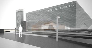 Libido Architects- projekt Dworca Łódź Fabryczna.