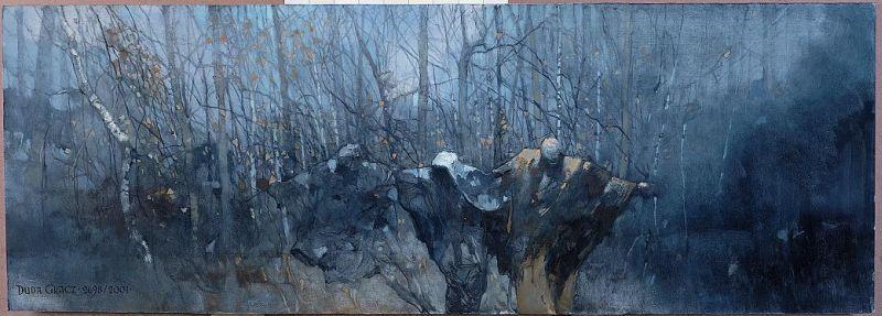 Obraz z wystawy ''Chopinowi – Duda-Gracz''.