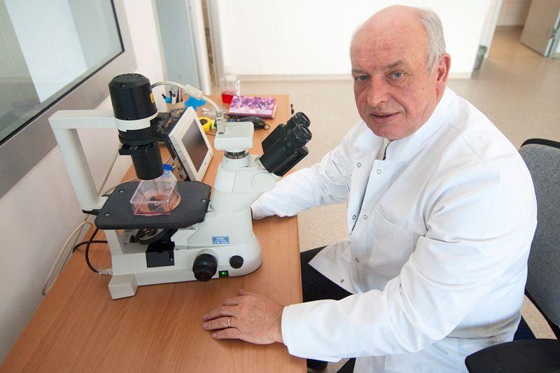Dr hab. Marek Cegielski to jeden z odkrywców MIC-1