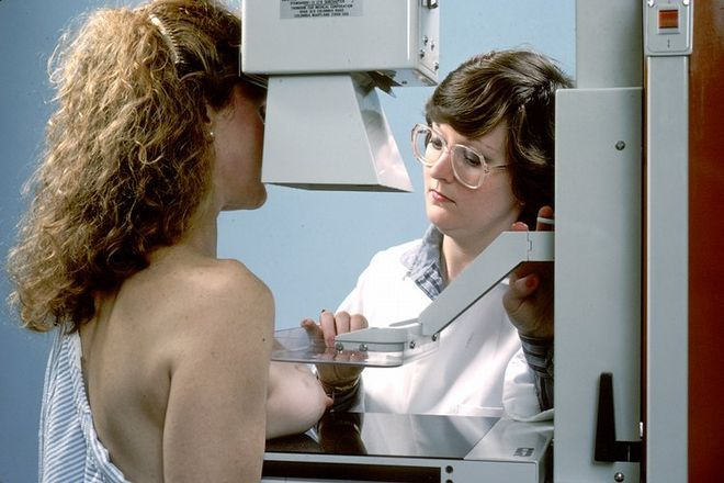 Mammografia.