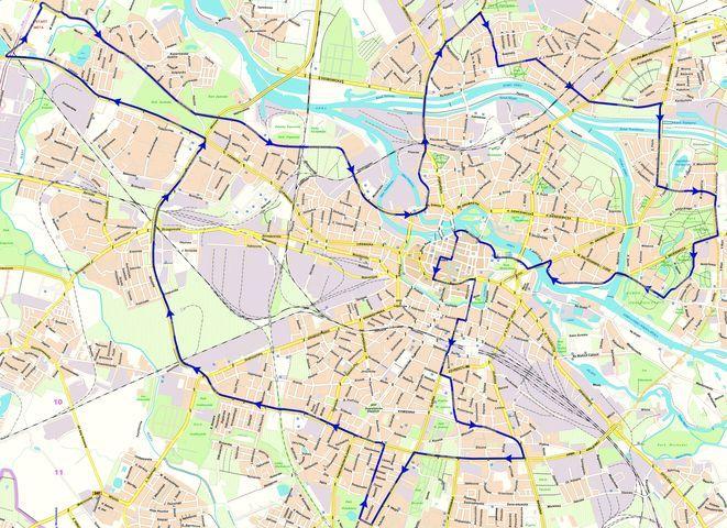 Tak wygląda trasa 29. Wrocław Maratonu