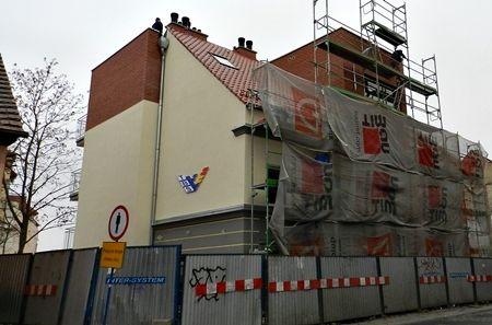 Nowy budynek przy ul. Krzywoustego jest już na ukończeniu