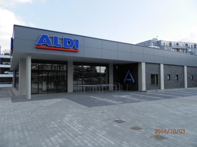 Nowy sklep Aldi powstał przy ul. Kościuszki