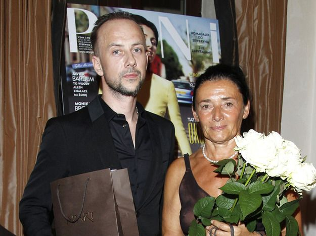 Profesor Alicja Chybicka i Adam Darski.