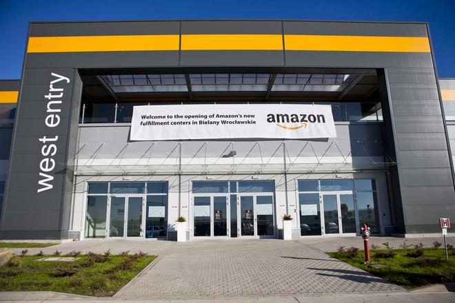 Swoje centra pod Wrocławiem otworzył koncern Amazon