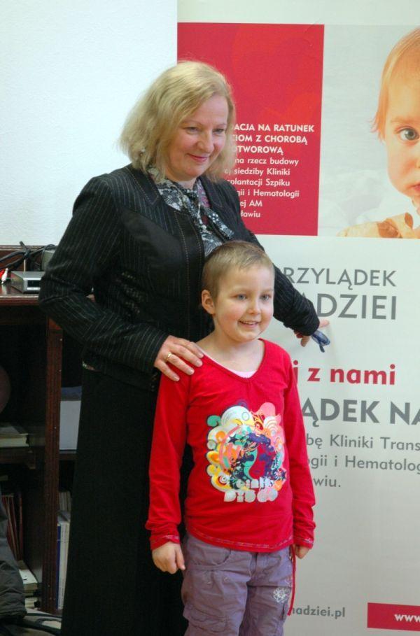 Prezydentowa Anna Dutkiewicz jest ambasadorką budowy ''Przylądka Nadziei''.