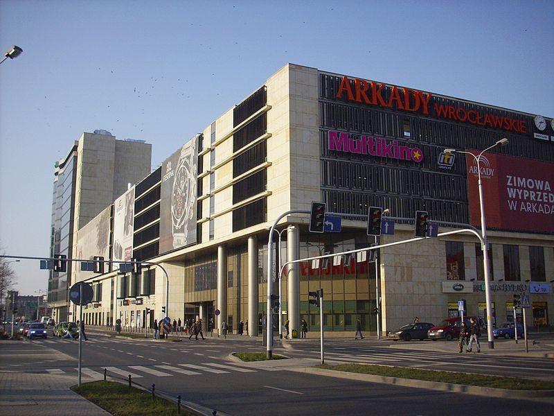 Arkady Wrocławskie to galeria, która najlepiej kojarzy się mieszkańcom naszego miasta