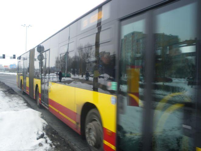 To musi być dowód, że autobusy są szybkie - skoro złodzieje uciekają nimi przed policją.
