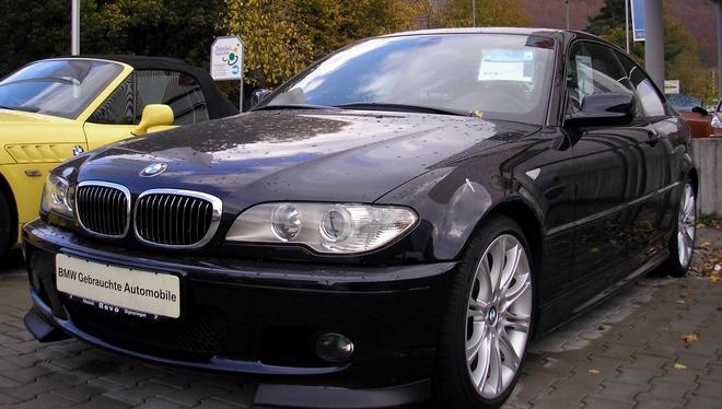 Miasto wystawiło na sprzedaż czarne, sportowe BMW [zdjęcie ilustracyjne]