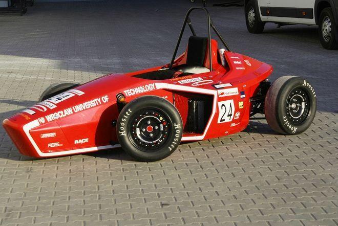 Oto bolid stworzony przez PWR Racing Team