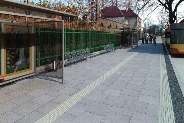 Tak po przebudowie będzie wyglądał przystanek autobusowy