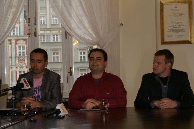 Wojciech Woziwodzki (pierwszy od lewej) - CEO Tequila Mobile