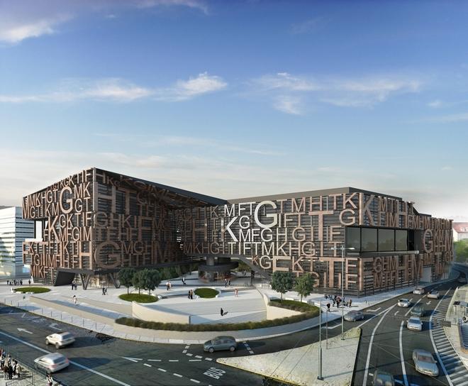 Pracownia AP Szczepaniak przygotowała projektu nowego obiektu przy placu Jana Pawła II