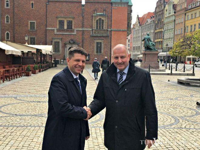 Rafał Dutkiewicz i Ryszard Petru stworzą koalicję we wrocławskiej radzie miejskiej