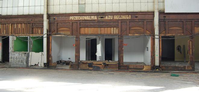 Tak witryny wyglądały na początku modernizacji obiektu