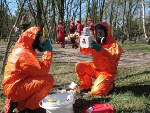 Ćwiczenia podczas Międzynarodowych ćwiczeń wojskowych służb medycznych w 2009 r.