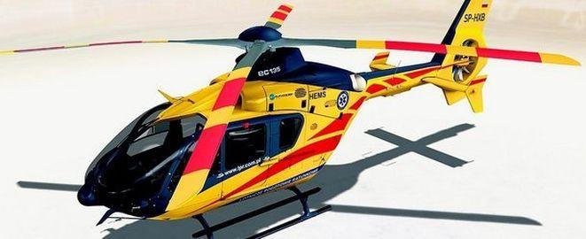 Tak ma wyglądać eurocopter Lotniczego Pogotowia Ratunkowego, który będzie latał do ofiar na Dolnym Śląsku.