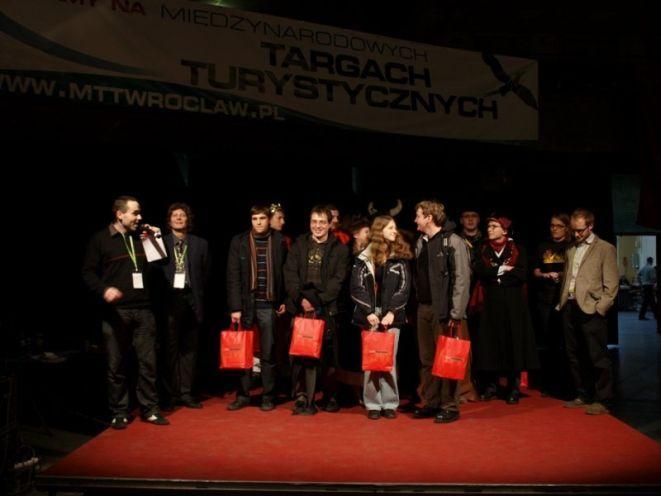 Zwycięzcy gry, która odbyła się podczas zeszłorocznych targów.
