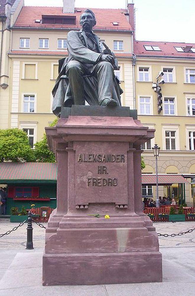 Pomnik Aleksandra Fredro.
