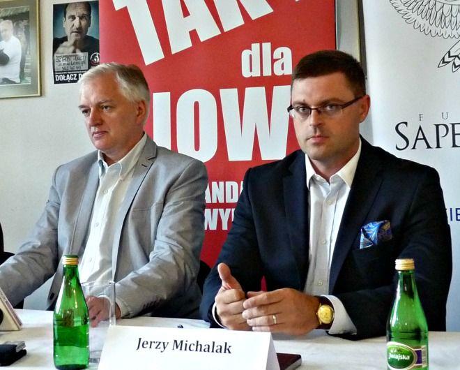 Radny Jerzy Michalak pojawił się na spotkaniu z Jarosławem Gowinem