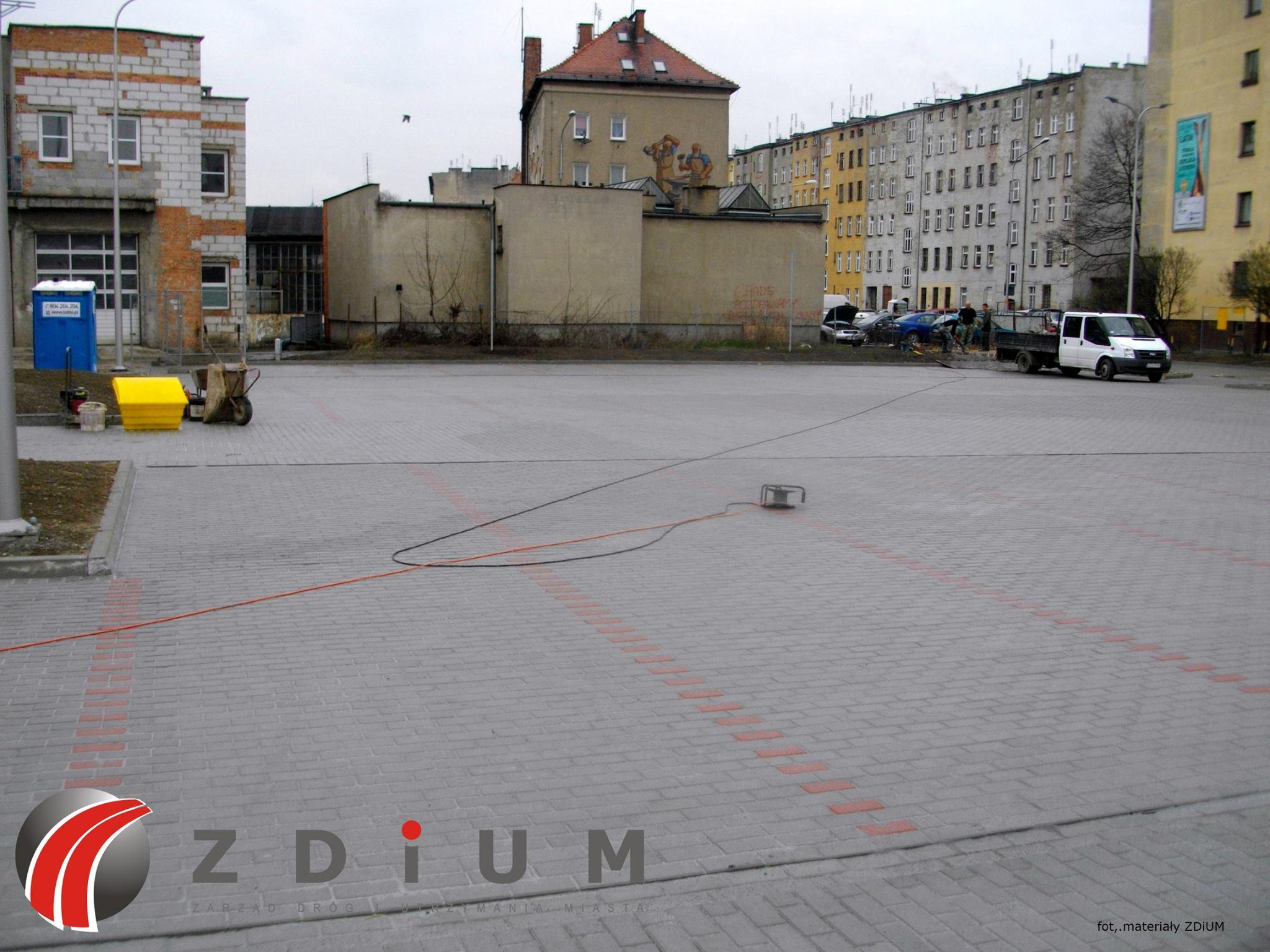Przy Centrum Biznesu Grafit powstał nowy parking