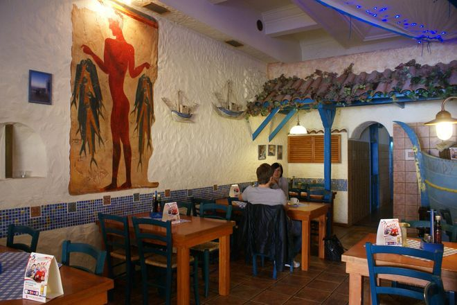 Grecy nie będą mieli problemów ze znalezieniem restauracji serwujących ich ulubione potrawy