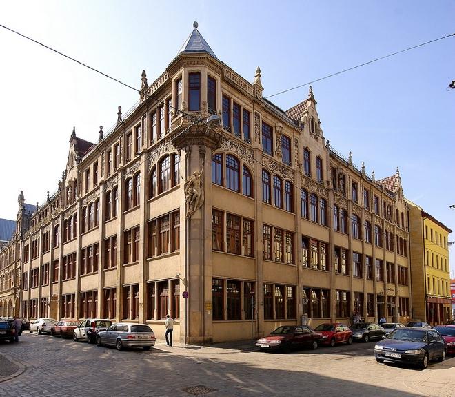 Siedziba Wrocławskich Zakładów Zielarskich Herbapol mieści się przy ul. św. Mikołaja