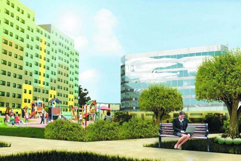 Firma I2 Development chciała przy Borowskiej zbudować blok i park. Radni miejscy się na to nie zgodzili.