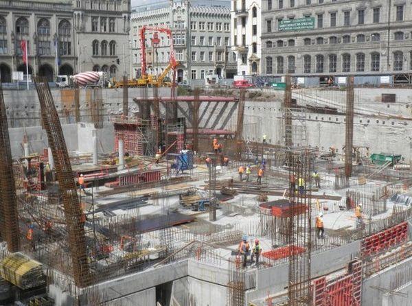 Część placu budowy pod Narodowym Forum Muzyki 11 września zamieni się w przestrzeń koncertową.