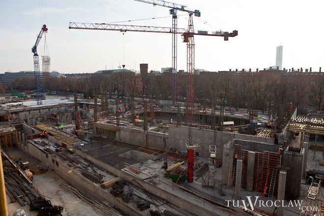 Na budowie postęp prac wreszcie zaczyna być widoczny