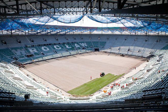 Nadal trwa spór wykonawców stadionu o zapłatę za wykonane prace