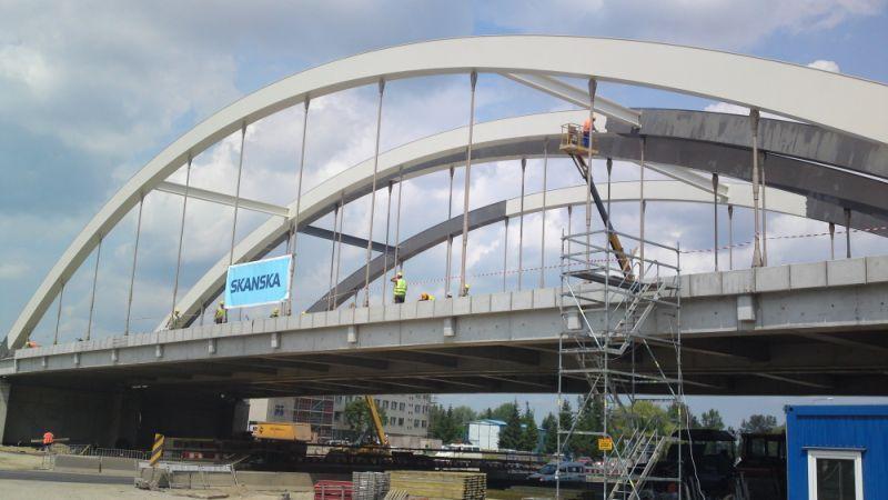 Wrocławskie Inwestycje nadzorują np. budowę północnego odcinka obwodnicy śródmiejskiej.