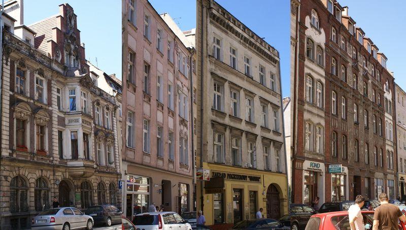 Kamienic, które mają się doczekać remontu w przyszłym roku. (od lewej) Św. Antoniego 12, 16, 22 oraz 40