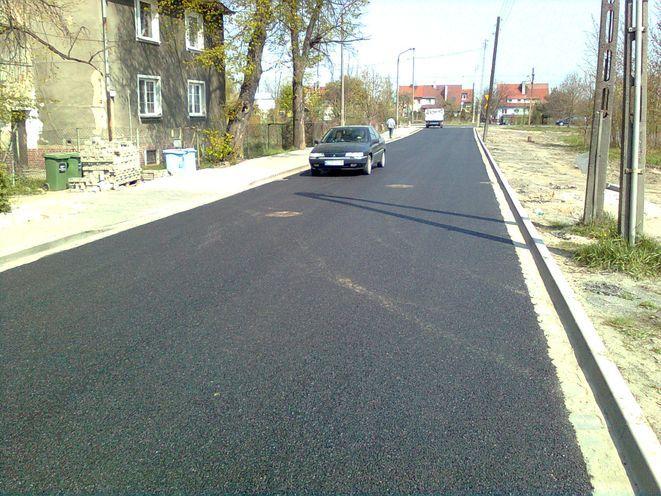 Tak w tej chwili wygląda ta ulica.