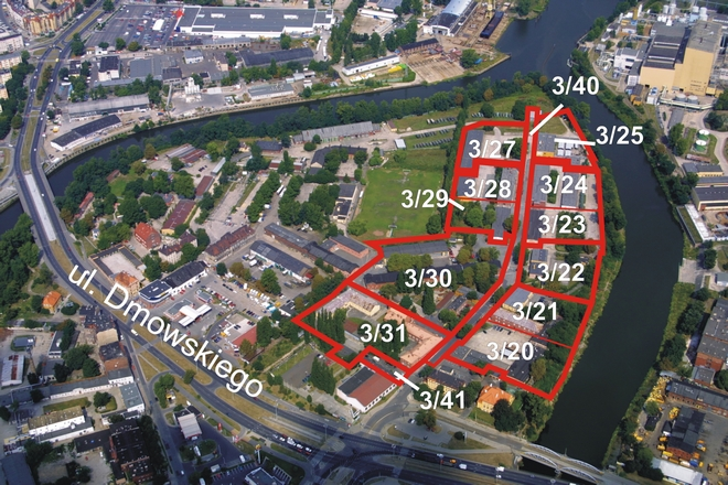 Działki na Kępie Mieszczańskiej, które są wystawiane na sprzedaż, mają już plan zagospodarowania przestrzennego