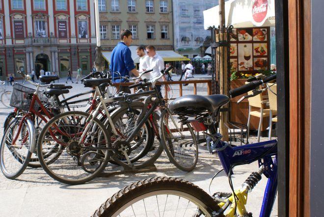 Zima również może być dobrym czasem na dotarcie rowerem do Rynku