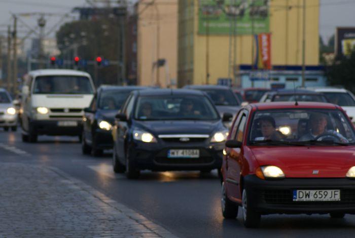 Korki to zmora wrocławskich kierowców