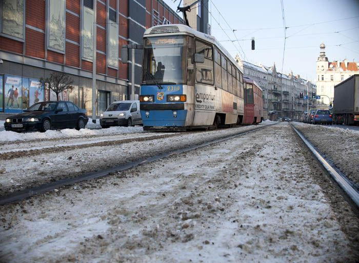 Torowisko na Piastowskiej będzie wydzielone po remont estakad na pl. Społecznym
