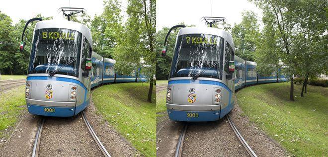 Tramwaj dociera na miejsce z numerem 6 a dalej w trasę rusza jako 7. To właśnie ''przebieranka''.