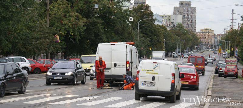 Szyny na ulicy Curie-Skłodowskiej są jednymi z najbardziej zdezelowanych w mieście