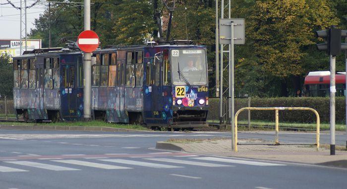 Tramwaje wprawdzie wracają na Legnicką, ale takich, z numerem 22 nie zobaczymy już nigdy.