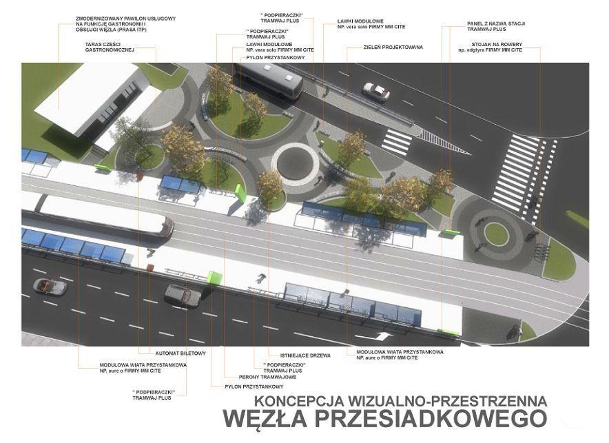 Autorem projektu węzła przy Borowskiej jest katowicka firma Grontmij Polska