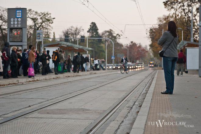 Z ulicy Borowskiej w ten weekend tramwajem w kierunku południowym dojedziemy tylko na Tarnogaj