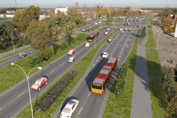 Od tego weekendu kierowcy będą mogli korzystać z szerokiego, dwupasmowego łącznika na ul. Żmigrodzkiej